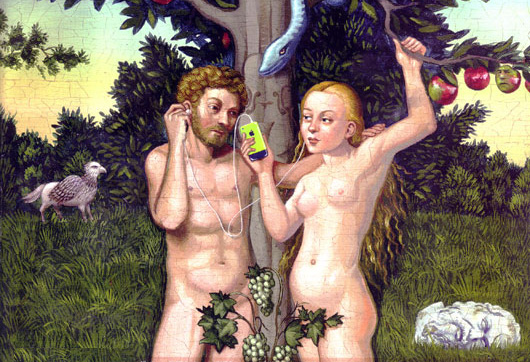 Adam and Eve Leveling Down