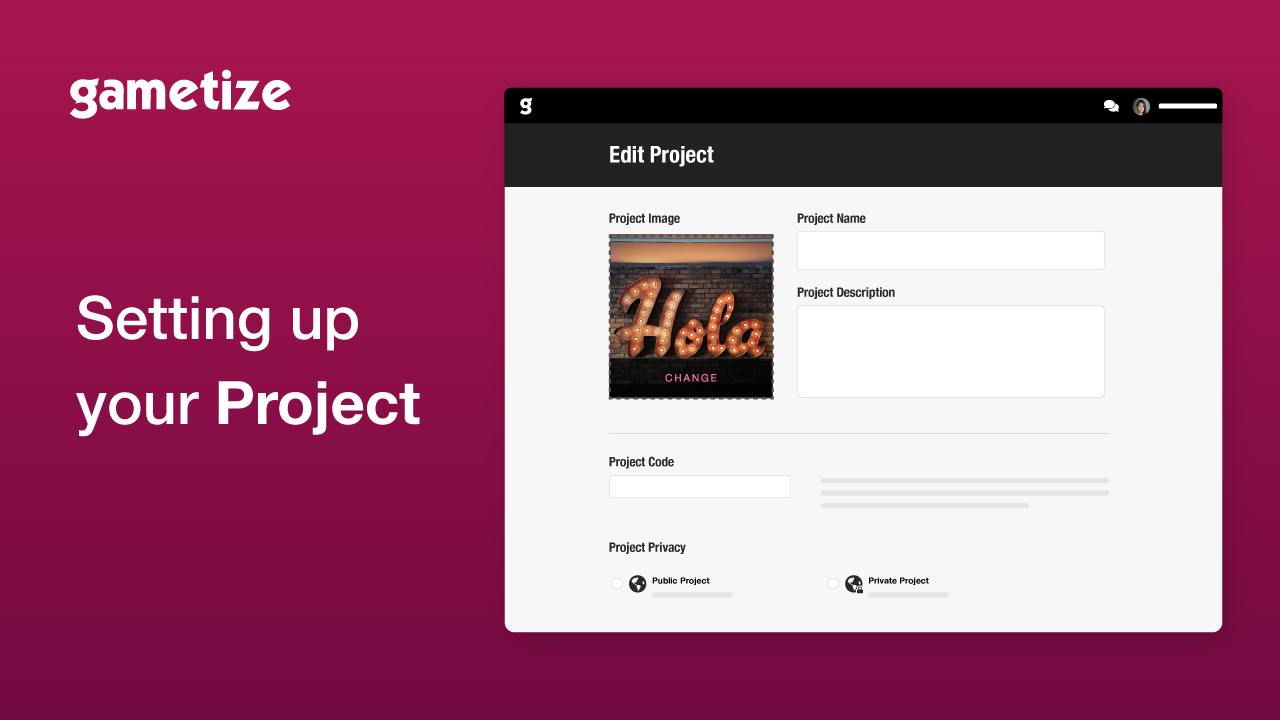 Tutorial Setting Up Project