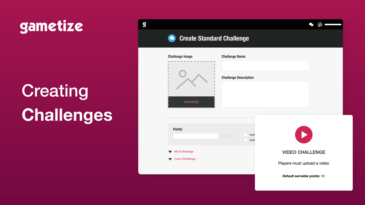 Tutorial Creating Challenges