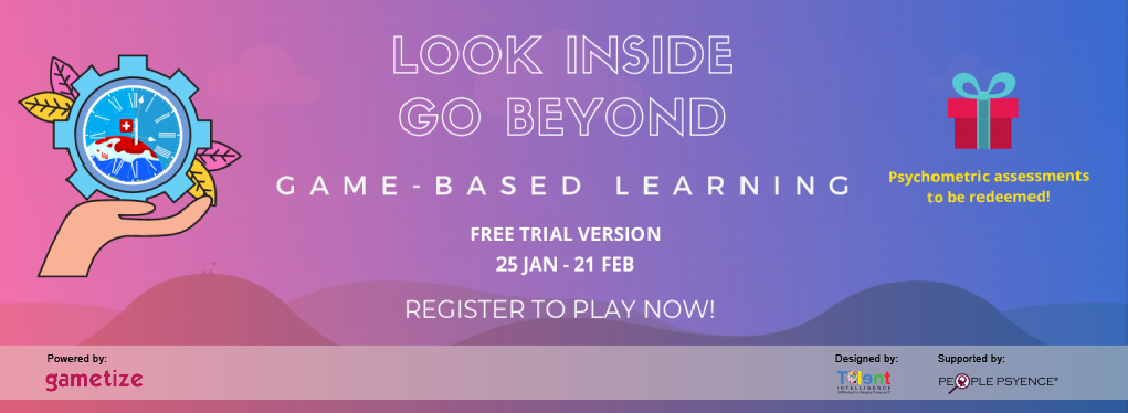 Look Inside, Go Beyond Banner from 25 January to 21 February