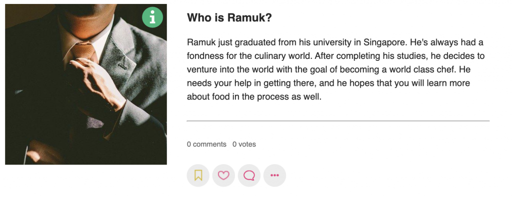 Screenshot of Ramuk's Adventure